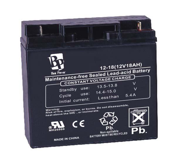 Best Power 12V 18AH
